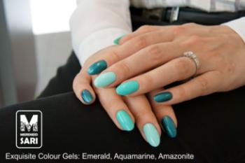 Coloured gel - Aquamarine