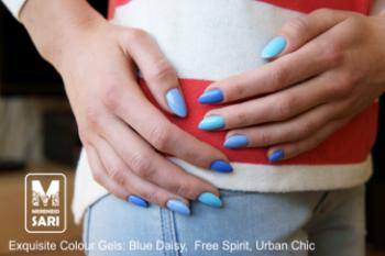 Coloured gel - Blue Daisy