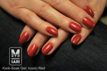 Kwik-Soak Gel - Iconic Red