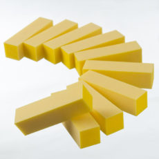 Yellow Buffer 220 grit