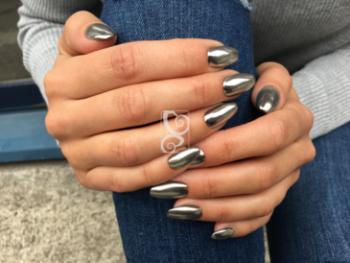 Chrome pigment Silver